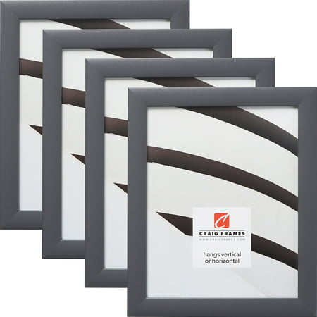 Craig Frames 23247635 11 x 17 Inch Picture Frame, Grey, Set of 4
