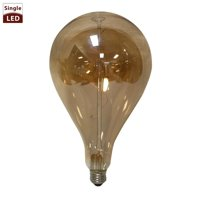 Royal Design Inc Royal Designs Air Balloon Shaped Decorative Vintage Tinted Indoor or Outdoor Edison Medium Base Dimmable LED Bulb