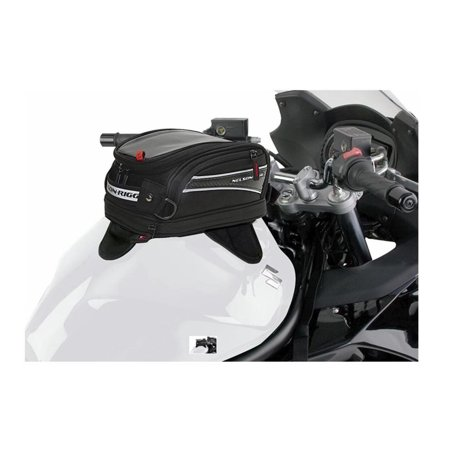 Nelson Rigg Strap Mount Tank - Nelson-Rigg CL-2016-ST CL-2014 Journey Mini Tank Bag with Strap Mounts
