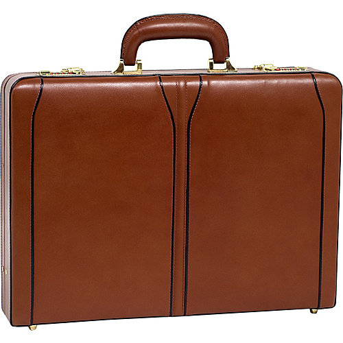 McKlein USA Lawson Leather Attache Case