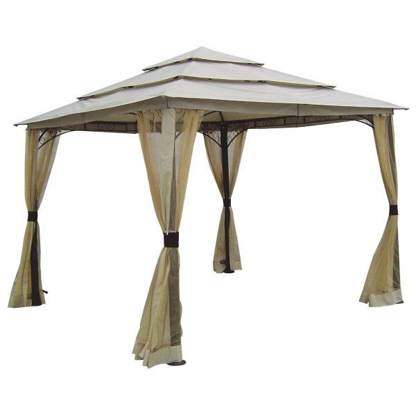 Garden Winds Replacement Canopy Top for La Quinta Triple Tier Gazebo, Riplock 350