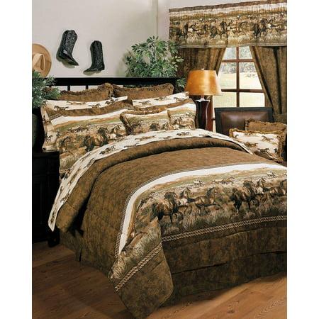 Karin Maki Unisex Wild Horses Full Comforter Set - 09086000083Km ()