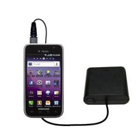 Portable Emergency AA Battery Charger Extender suitable for the Samsung Galaxy S 4G - with Gomadic Brand TipExchange Technology