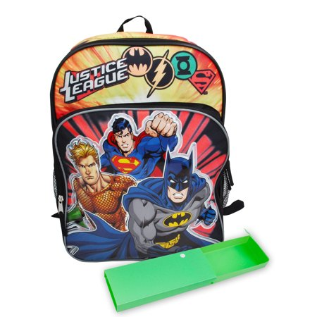 Boys Justice League Backpack 16