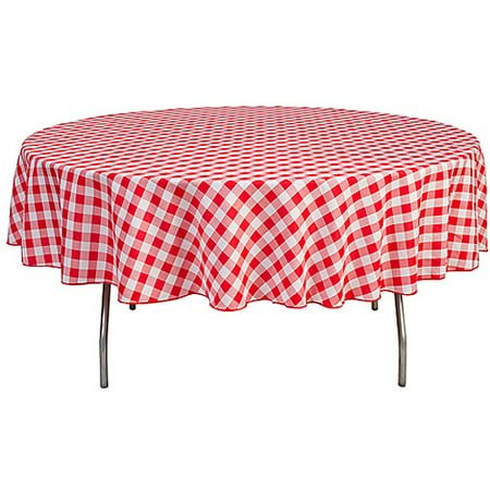 Round 90 Quot Polyester Tablecloth Walmart Com