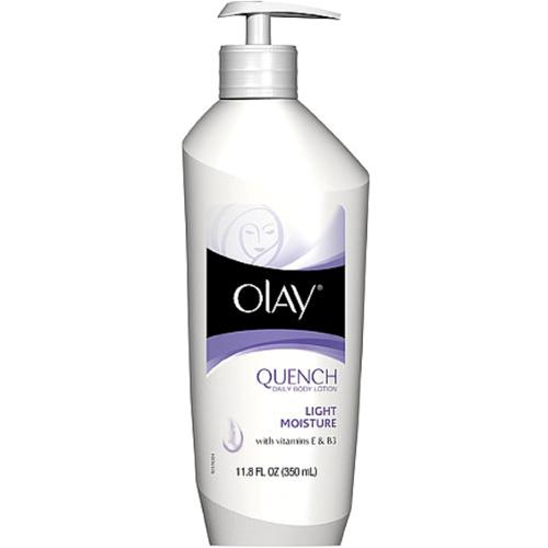 Olay Quench Daily Body Lotion With Vitamin E And B3 - 11.8 Oz