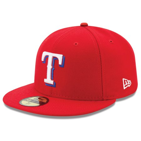 Texas Rangers New Era Alternate Authentic Collection On-Field 59FIFTY Fitted Hat - Red