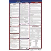 JJ KELLER 400-VA-5 Labor Law Poster,Fed/STA,VA,SP,26inH,5yr