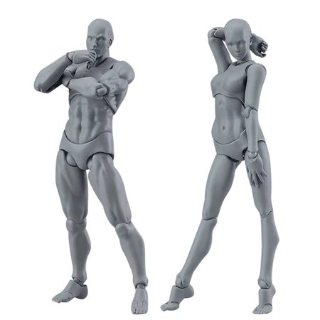 Drawing Figures For Artists Action Figure Model Human Mannequin Man Woman