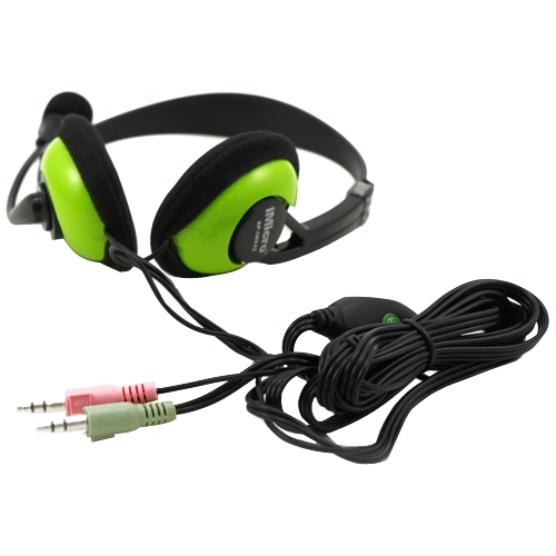 2-Pack #SP-IM942 2 iMicro IM942 Multimedia Stereo Headset with Microphone
