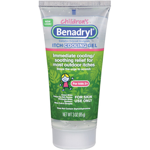 Benadryl(R): Gel For Kids Anti-Itch Gel For Kids, 3 Oz