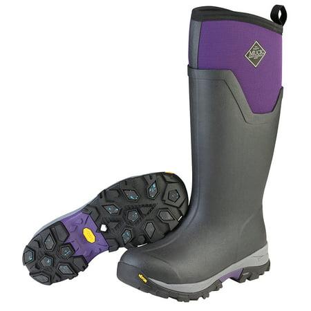Muck Boot Women's Arctic Ice Tall Snow Boots Black Neoprene Rubber Fleece 5
