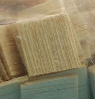 Dollhouse Handsplit Pine Shingles, 500 Pcs