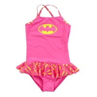 Batman Skirted 1 Piece Infant Girls Bathing Suit