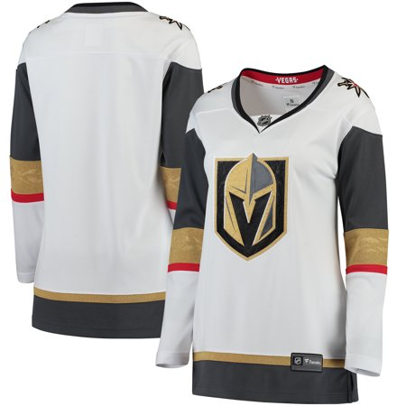 low priced fa718 9de38 Vegas Golden Knights Fanatics Branded Women's Away Breakaway Jersey - White