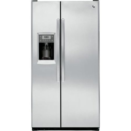 Ge Profile Pzs23ksess 36 Counter Depth Side By Refrigerator With 23 3 Cu Ft Capacity Integrated Shelf Support