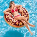 "Intex 45"" Inflatable Nutty Chocolate Donut Pool Tube"