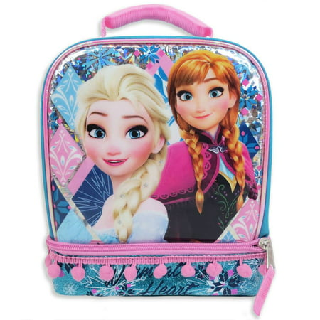 Frozen Dual Compartment Lunch Bag](Halloween Potluck Lunch)