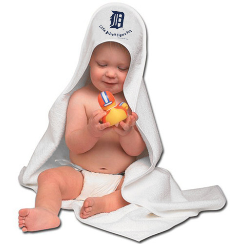 McArthur Detroit Tigers Hooded Baby Towel - No Size