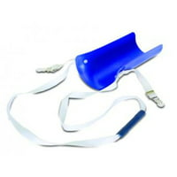 Essential Medical Supply Everyday Essentials Molded Plastic Sock and Stocking Aid with Long Handle and Garter Clips