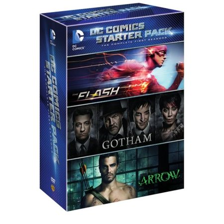 Dc Comics Starter Pack  The Complete First Seasons   The Flash   Gotham   Arrow