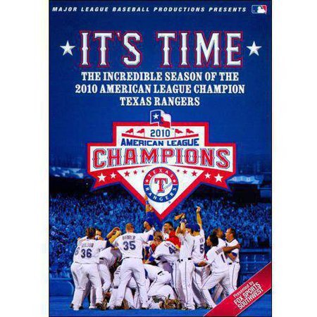 MLB: 2010 Texas Rangers - It's Time! - Ranger De Texas