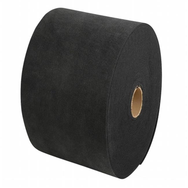 Roll Carpet, Black - 11 W x 12 L