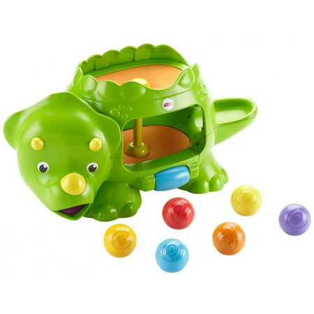 Fuser Lever - Fisher-Price Double Poppin' Dino with Silly Sounds & Music