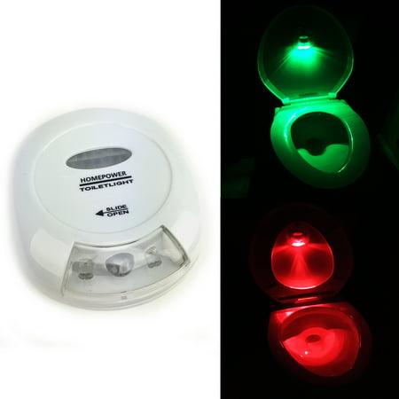 Illuminated Bowl (GlowCity Ultra Bright Motion Activated Toilet Light, Illuminates Entire)