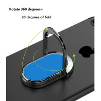 Finger Ring Stand, 360 Degree Rotating Smartphone Ring Holder Finger Grip kickstand Universal Cell Phone Ring For Smartphone, Tablets Blue
