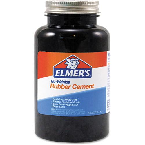 Elmer's Rubber Cement, Repositionable, 8 oz