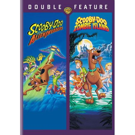 Scooby-Doo: The Alien Invaders and Scooby-Doo: Zombie Island (DVD)