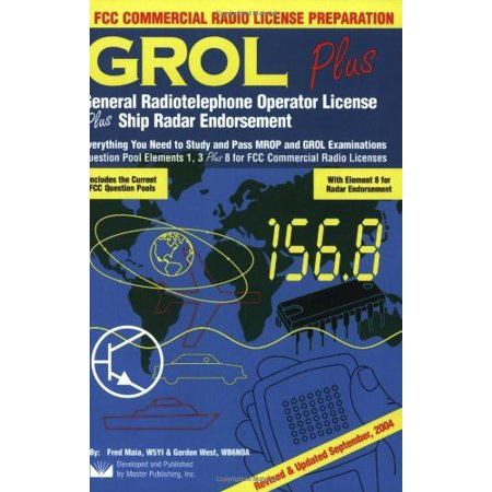 fcc general radiotelephone operator license