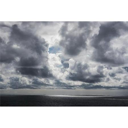 Posterazzi DPI12276167 Sunlight Breaks Through The Clouds - Manzanita Oregon United States of America Poster Print - 19 x 12 in. - image 1 of 1
