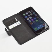 iPhone 6 Case (4.7) Wallet Case Credit Card ID Flip Cover PU Leather Cash Slots and Inner Pocket