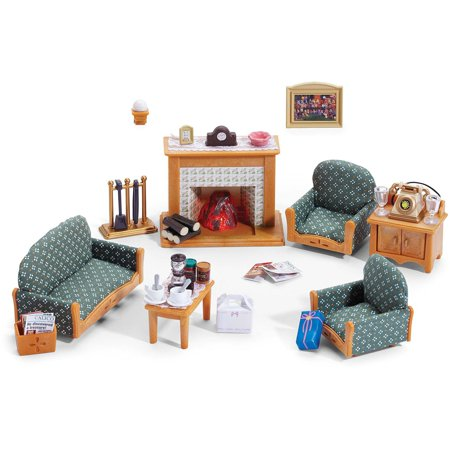Calico critters deluxe living room set Critter House Room Furniture