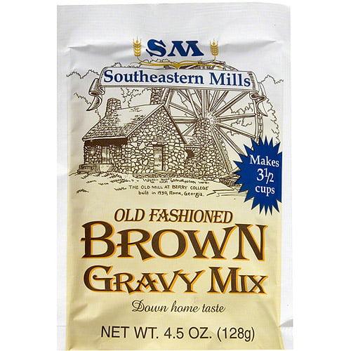 Southeastern Mills Brown Gravy Mix, 4.5 oz (Pack of 24)