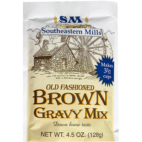 Southeastern Mills Brown Gravy Mix, 4.5 oz (Pack of 24)