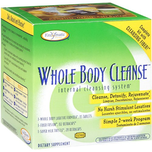 Enzymatic Therapy Internal Cleansing System With Cleansing Fiber 1 KT