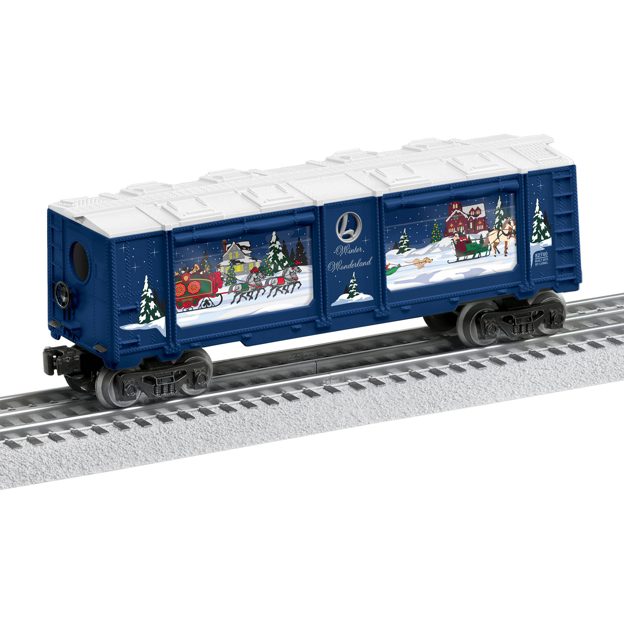 Lionel s Winter Wonderland Christmas Aquarium Car