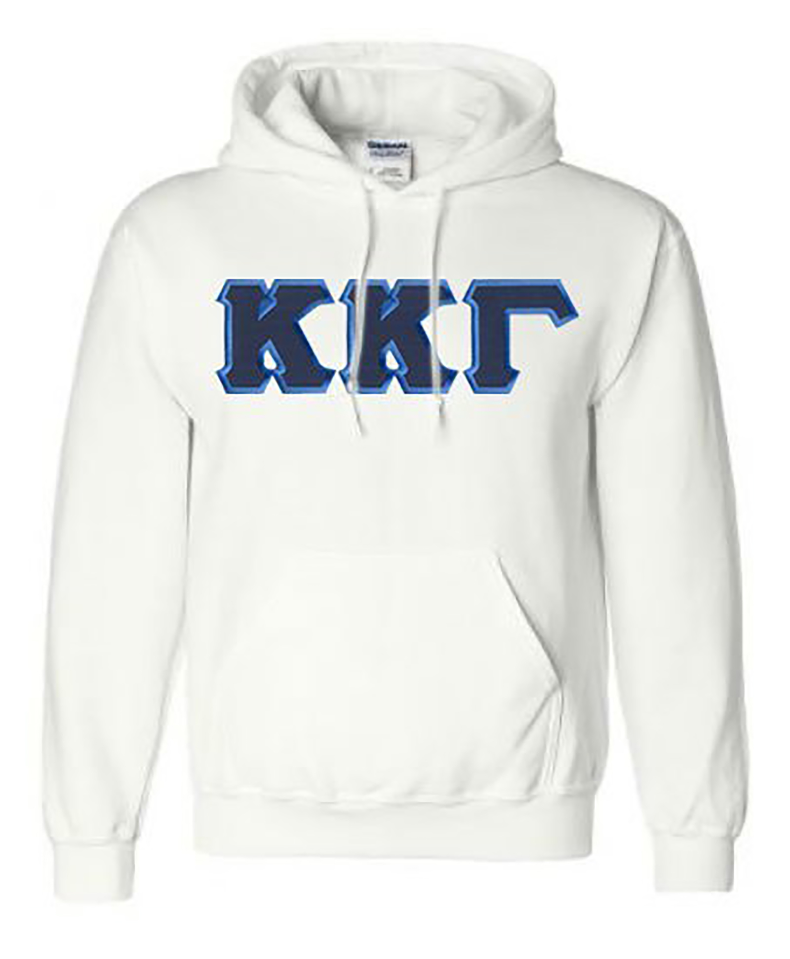 Kappa Kappa Gamma Lettered Game Day Tote Navy Blue