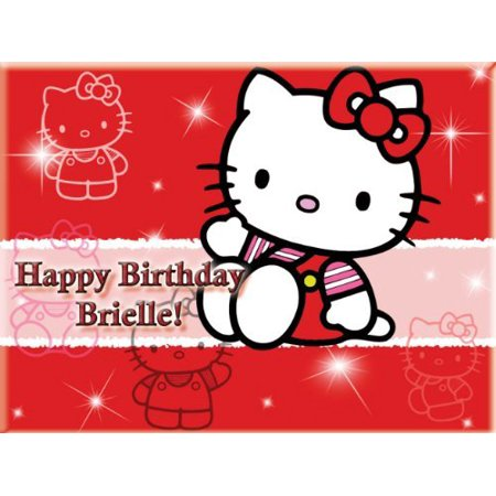 Single Source Party Supply - Hello Kitty Edible Icing Image #1-10.5