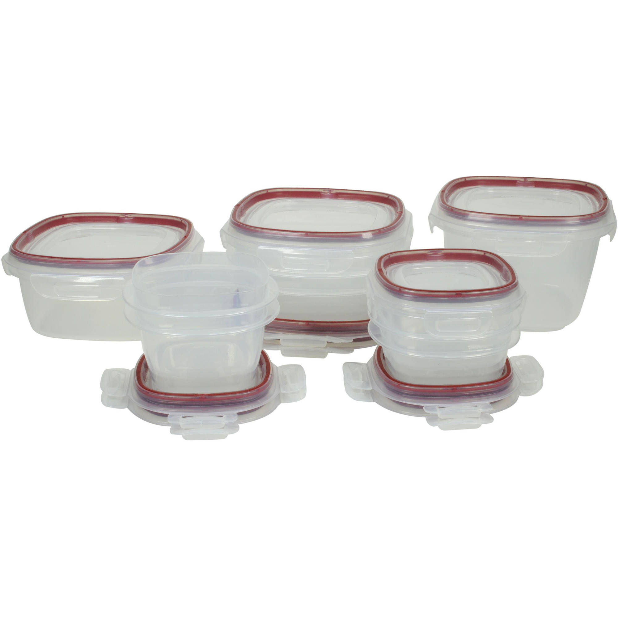 20 Rubbermaid Food Storage Set Container With Lid Clip