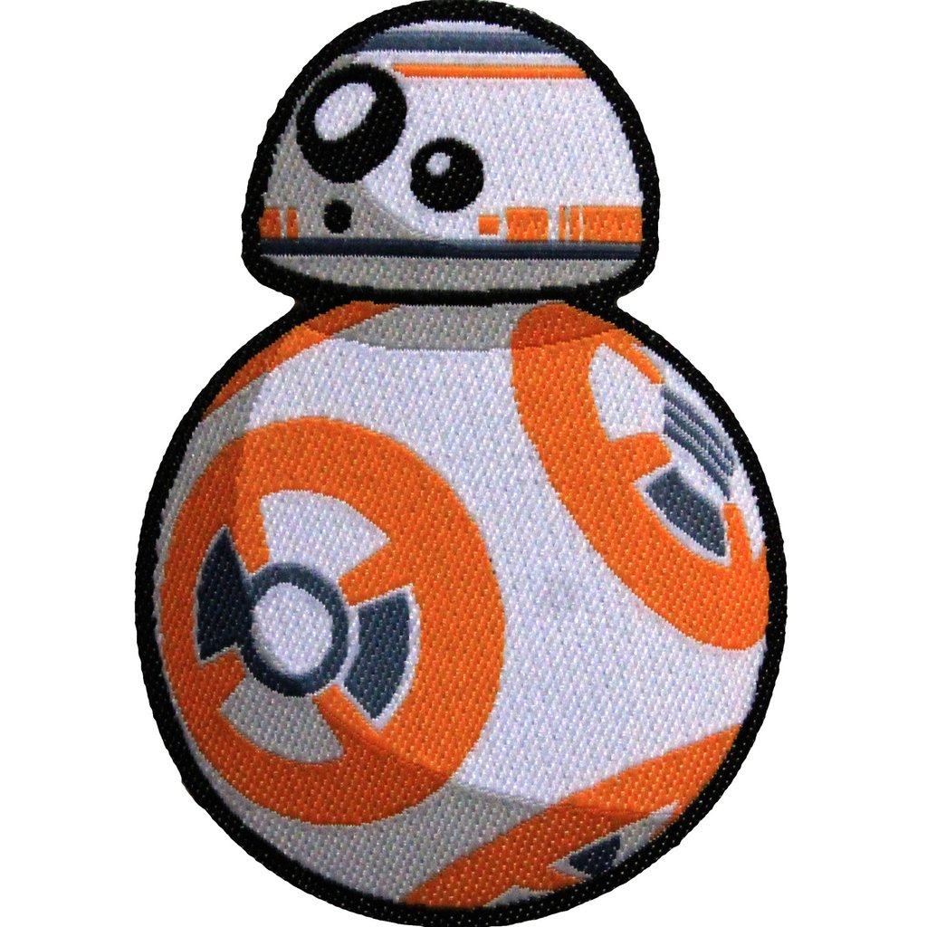 Star Wars Official BB-8 Iron On Patch