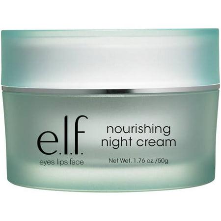 E L F  Nourishing Night Cream  1 76 Oz