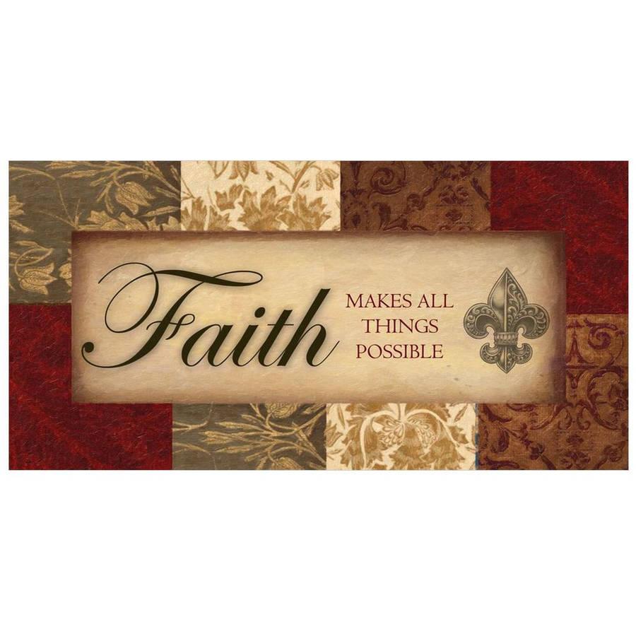 Faith by Eazl Fine Art Print
