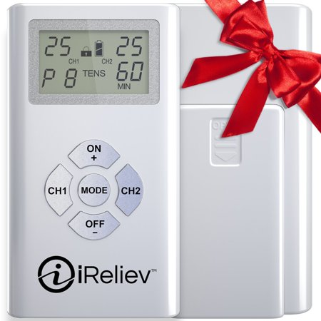 Tens Unit   Dual Channel Electro Therapy Pain Relief System From Ireliev