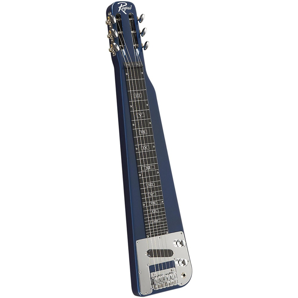 Rogue RLS-1 Lap Steel Guitar with Stand and Gig Bag Metallic Blue by Rogue