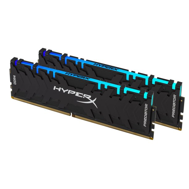 HyperX 16GB 2933MHz DDR4 CL15 DIMM (Kit of 2) XMP RGB HX429C15PB3AK2/16 - Memory Upgrade