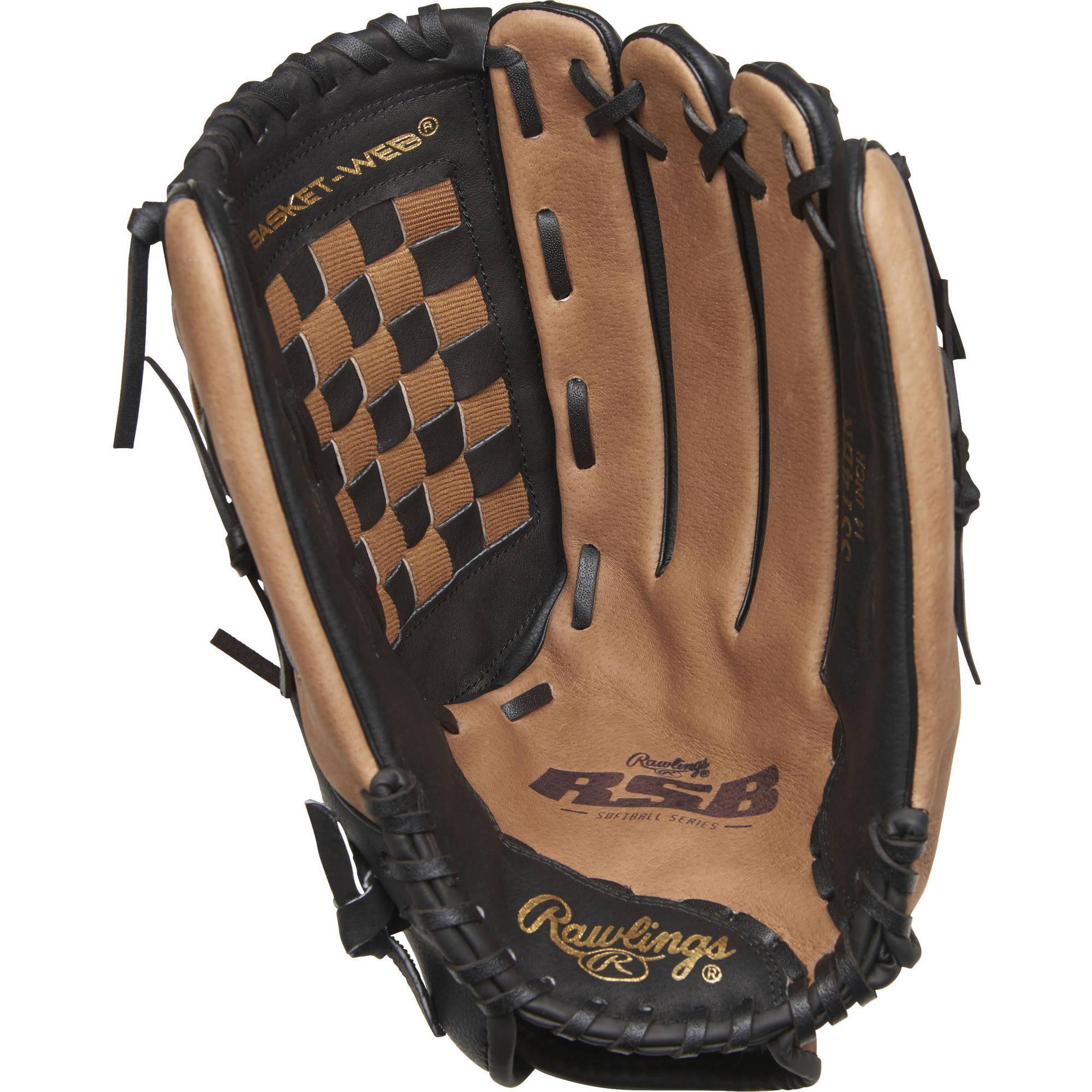 "Rawlings 14"" Slowpitch Softball Fielder's Glove by Rawlings Sporting Goods"